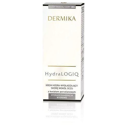 Dermika hydralogiq wygładzający krem pod oczy 30+ (with porcelan flower) 15 ml (5902046730048)