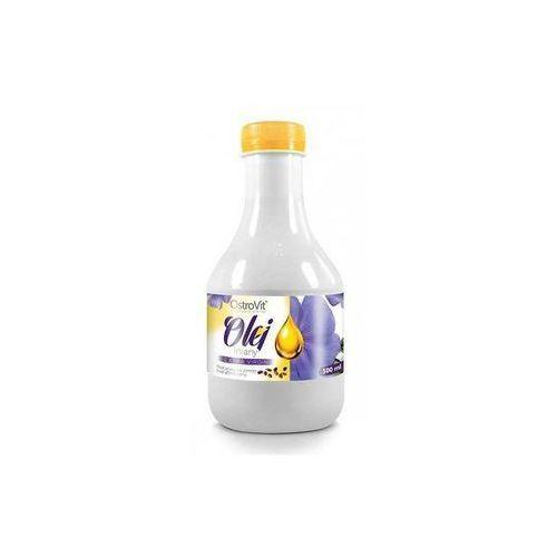 olej lniany extra virgin - 500ml marki Ostrovit