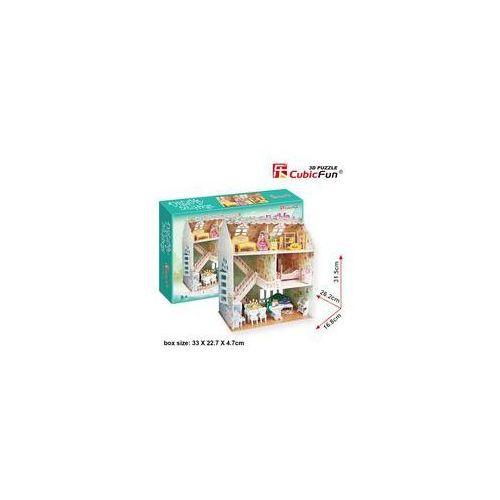 Puzzle 3D Dreamy Dollhouse Domek dla lalek od Edugaleria.pl