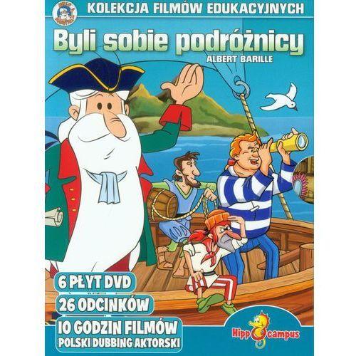 Hippocampus Byli sobie podróżnicy - kolekcja filmów (dvd) (5908259810850)