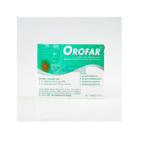 Orofar, tabletki do ssania, 16 szt - produkt farmaceutyczny