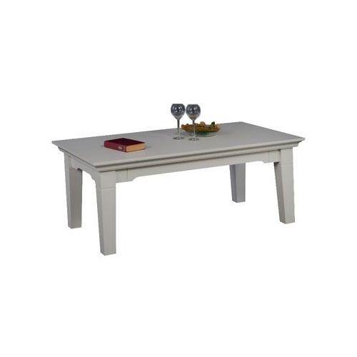 Biała ława sosnowa Ida 1 - produkt z kategorii- stoliki i ławy