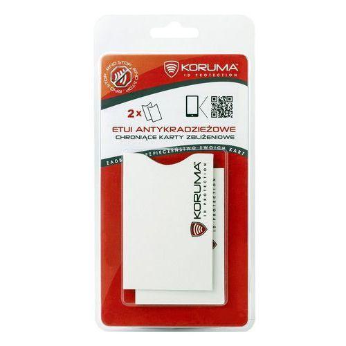 Koruma® ✅ etui antykradzieżowe do ochrony kart zbliżeniowych (2 sztuki) (5903111394011)