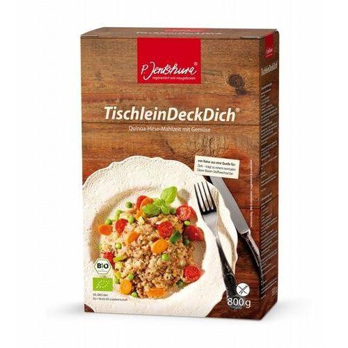 P. jentschura Komosa ryżowa z warzywami jentschura (quinoa)- tischleindeckdich - 800g