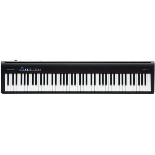 fp-30 bk pianino cyfrowe (kolor: czarny) marki Roland
