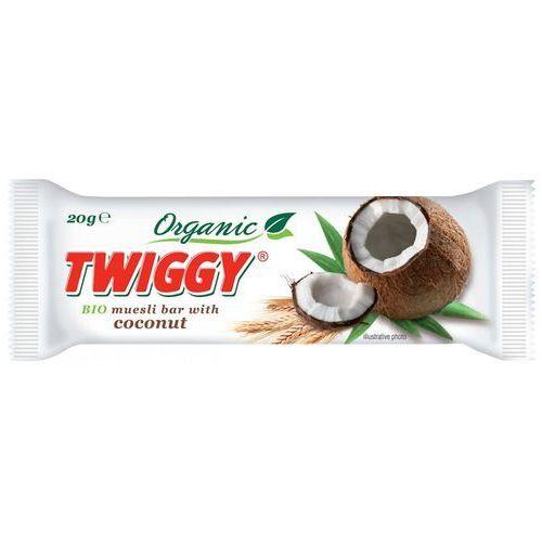 Twiggy (batony owocowe) Baton musli z kokosem bio 20 g - twiggy