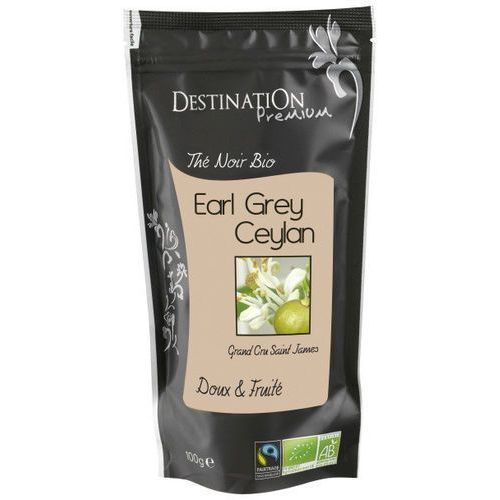 Herbata czarna earl grey ceylon 100g - destination marki 211destination