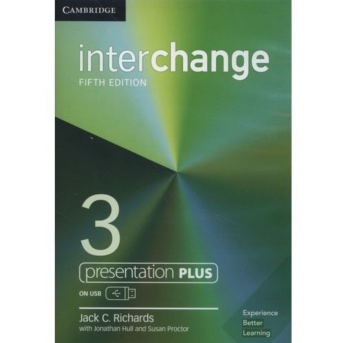 Interchange 3 Presentation Plus USB - Cambridge University Press DARMOWA DOSTAWA KIOSK RUCHU (9781108403078)