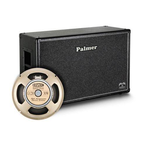 Palmer mi cab 212 g12a kolumna gitarowa 2 x 12″ z głośnikami celestion g12h anniversary, 8/16ohm