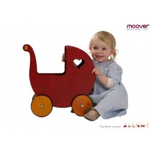 Wózek dla lalek Czerwony MOOVER TOYS - oferta [056ed9abef73c457]