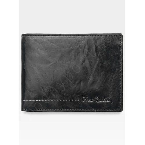 b4679e0bfd36e ... Portfel męski skórzany czarny texas 8806 - czarny marki Pierre cardin  75