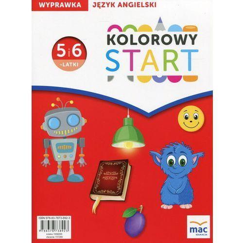 Kolorowy Start Język angielski Wyprawka 5 i 6-latki, oprawa miękka