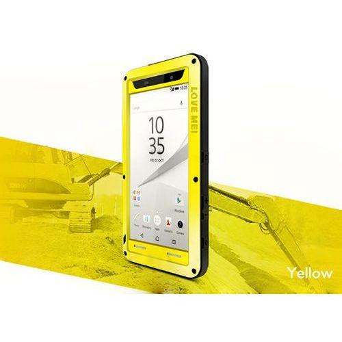 Etui pancerne Love mei do Sony Xperia Z5 Compact żółte - Żółty