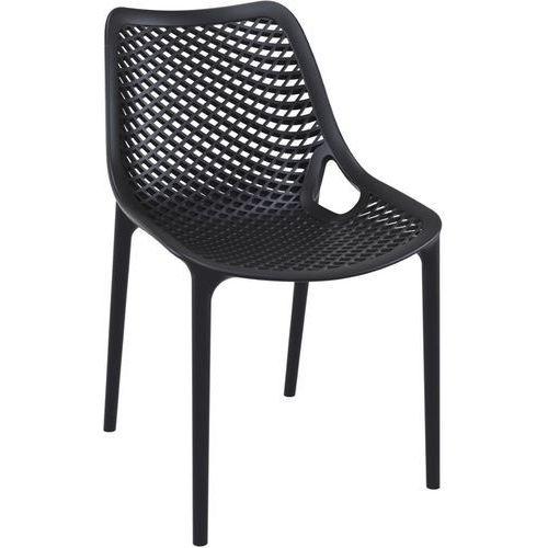 Krzesło Grid - czarny, 28522