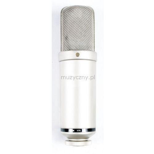 Rode ntk lampowy mikrofon pojemnościowy