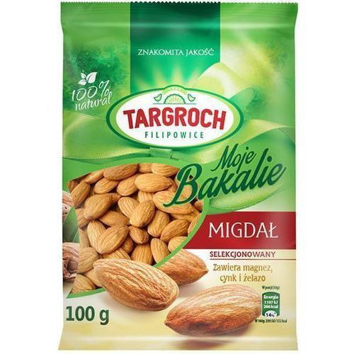 100g migdały całe marki Targroch