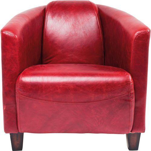 Cigar Lounge Red Fotel Tkanina Skóra Ekologiczna - 78813, marki Kare Design do zakupu w sfmeble.pl