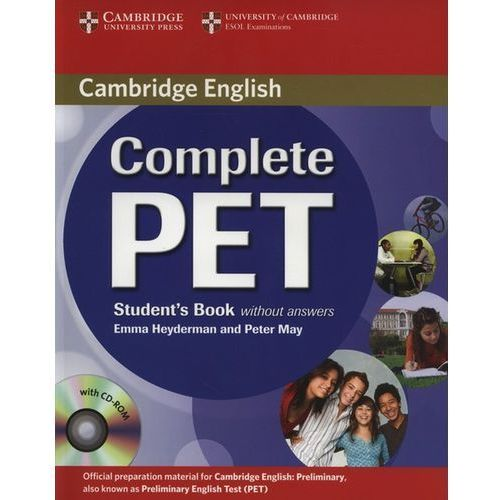 Complete PET Student's Book (podręcznik) without Answers with CD-ROM, Emma Heyderman, Peter May