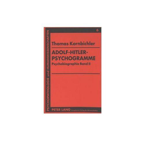 Adolf-Hitler-Psychogramme (9783631470633)