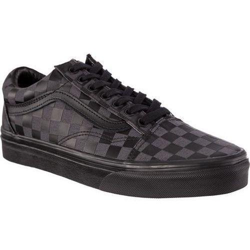 old skool u5b high density black checkerboard - buty sneakersy marki Vans
