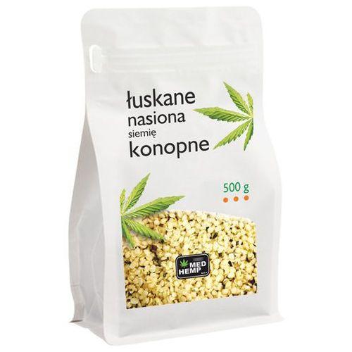 Nasiona (siemię) konopne łuskane