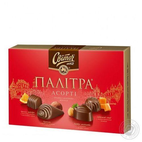 Switocz Bombonierki palitra mleczna czekolada, 200 g