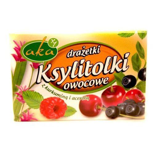 AKA: drażetki Ksylitolki owocowe - 40 g, 5908228012032