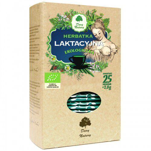 Dary natury - herbatki bio Herbatka laktacyjna bio (25 x 2 g) - dary natury (5902741006066)