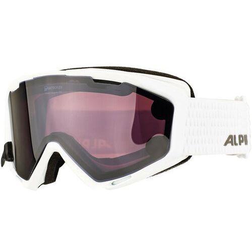 panoma s magnetic q+s s1+s3 gogle biały/czarny 2017 gogle narciarskie marki Alpina