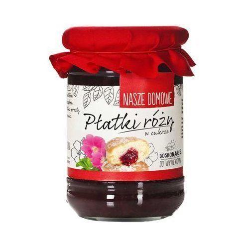 Nasze domowe 340g płatki róży w cukrze marki Premium rosa
