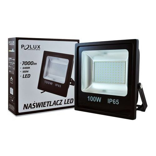 Projektor led 100w ip65 czarny marki Polux