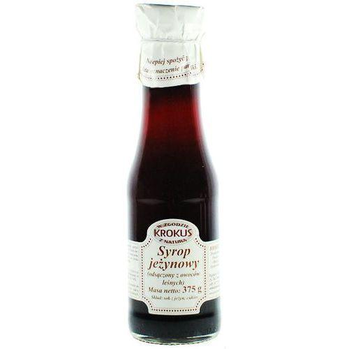 Syrop jeżynowy sok jeżyny 375g - krokus marki 193krokus