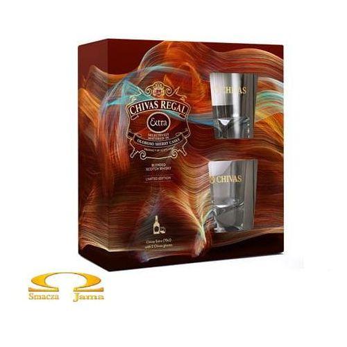 Whisky Chivas Regal Extra 0,7l + 2 szklanki
