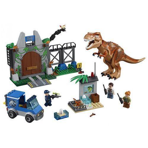 10758 T. REX NA WOLNOŚCI (T. rex Breakout) - KLOCKI LEGO JUNIORS JURASSIC WORLD