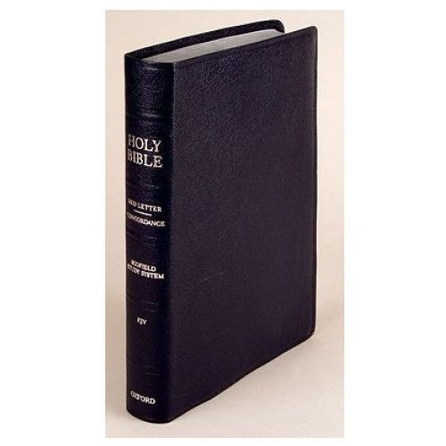 Old Scofield (R) Study Bible, KJV, Classic Edition - Bonded Leather, Navy (9780195274738)