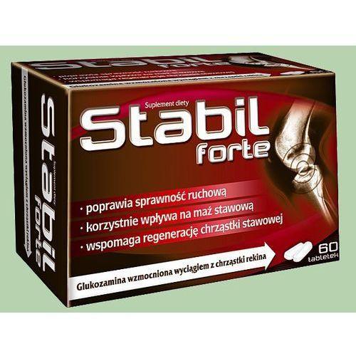 Artykuł Stabil Forte - tabletki 60 sztuk Kurier: 13.75, odbiór osobisty: GRATIS! z kategorii pozostałe leki przeciwbólowe