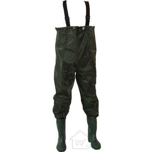 1 Wodery wędkarskie - spodnie do brodzenia po wodzie roz 42