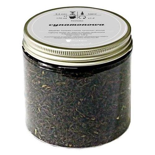 Herbata czarna o smaku cynamonowa gwiazda 120g