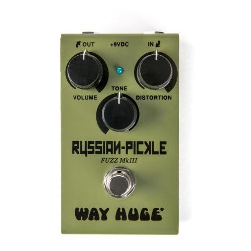 Dunlop e-wm-42, way huge smalls russian pickle - fuzz mkiii, efekt gitarowy
