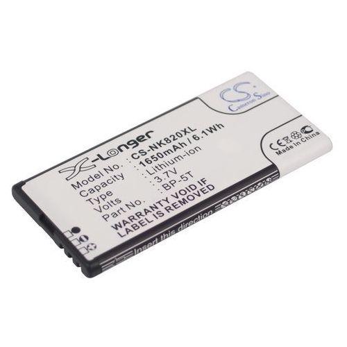 Nokia lumia 820 / bp-5t 1650mah 6.11wh li-ion 3.7v () marki Cameron sino