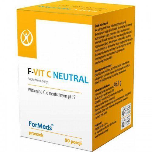 F-VIT C Neutral neutralne pH 7 (askorbinian magnezu) + magnez 90 porcji Formeds (5903148620015)