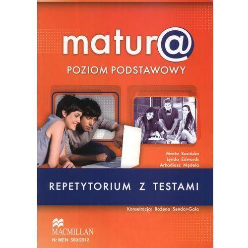 Matura poziom podstawowy Język angielski Repetytorium z testami (+CD), Macmillan