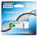 Produkt GOODDRIVE FLASHDRIVE 32GB USB 2.0 TWISTER D.Green