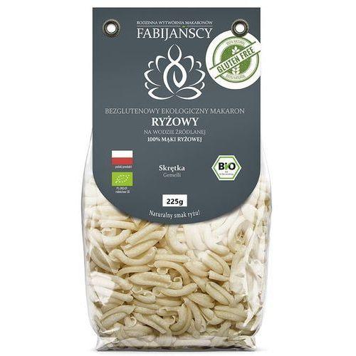 Fabijańscy (makarony) Makaron (z ryżu białego) skrętka gemelli bezglutenowy bio 225 g - fabijańscy (5902811253161)