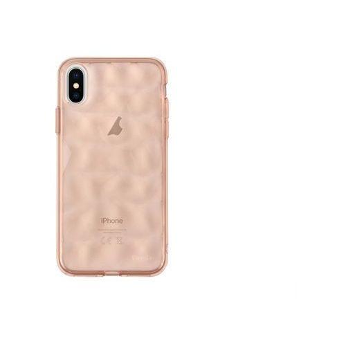 Apple iPhone X - etui na telefon Ringke Air Prism - różowy, kolor różowy