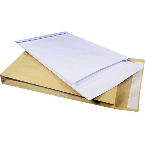 Koperta B4 (250x353x38 mm) biała HK rozszerzana (koszulka , teczka , koperta)