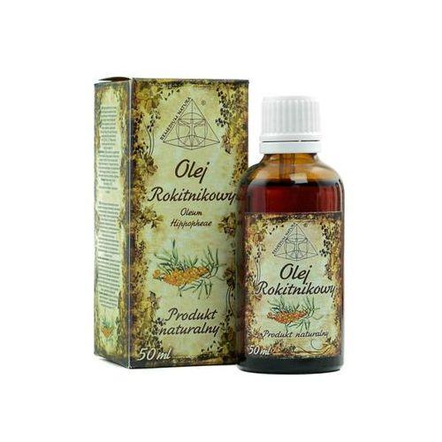 Remedium natura Olej rokitnikowy, 100% naturalny, 50 ml- wrzody, rany