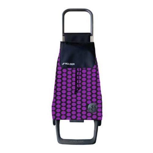 Wózek na zakupy Rolser JOY Jet Baby Luna Lila/Negro NOWOŚĆ! (wózek na zakupy)