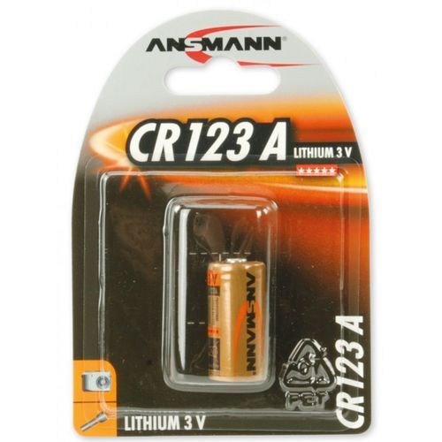 Bateria ANSMANN CR123A (1 szt.) (4013674020010)