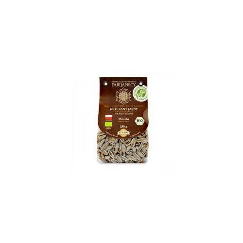 Makaron (z białej gryki) muszla gnocchi sardi bezglutenowy BIO 250g